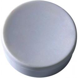 Magnet rund Ø 35mm Haftkraft 2,5kg grau (Pckg. á 10 Stück)
