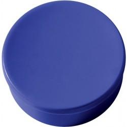 Magnet rund Ø 35mm Haftkraft 2,5kg blau (Pckg. á 10 Stück)