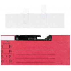 Sichtreiter Elba 99526 PVC 50x18mm inkl. Beschriftungsschild 50 St.
