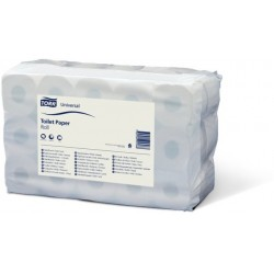 Toilettenpapier 2lg. Honigwabenprägung Rolle 400Bl. weiß 30Ro.