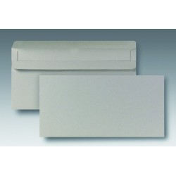 Briefumschläge DL grau ohne Fenster sk Recycling RC 1000 St. im Karton