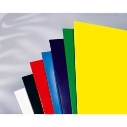 Umschlagmaterial GBC Hochglanzkarton A4 250g rot 100er Pack