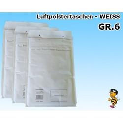 Versandtaschen Luftpolstertaschen Arobiene®Economy GR.6 Weiss (100 St.)