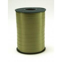 Geschenkband Ringelband 5mmx500m Grün Oliv 621 / 1 Rolle