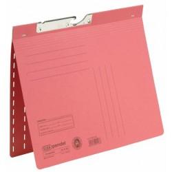 Pendelhefter Elba 90461 Karton 320g kfm. Heft. A4 rot (50 Stück)