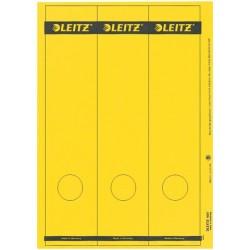 Rückenschilder Leitz 1687 PC 285x61 gelb Loch unten Pa=75St.