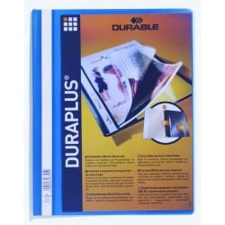 Sichthefter A4 Angebotshefter Durable DURAPLUS Hartfolie blau 1St.