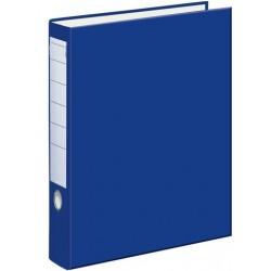 Ordner A4 50 mm breit Color PP Einsteckrückenschild blau