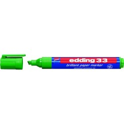 Pigmentmarker Edding 33 Keilspitze 1-5mm grün