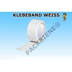 Klebeband PP Packband 50mmx66m Weiss 1 Rolle