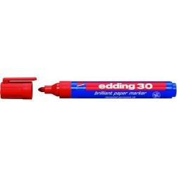 Pigmentmarker Permanentmarker Edding 30 1,5-3mm rot /1 St.