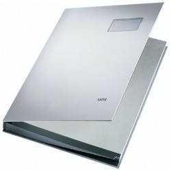 Unterschriftsmappe Leitz 5700 A4 20 Fächer PP-kaschiert grau