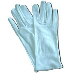 Handschuhe Trikot Baumwolle Größe 9 = M weiß  1 Paar