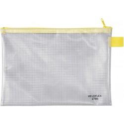 Reißverschlusstasche PVC A5 250x180mm gewebeverstärkt
