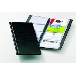 Visitenkartenalbum Durable Visifix 2380 f. 96 Karten schwarz 1St