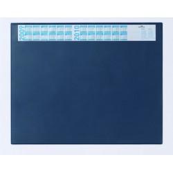 Schreibunterlage 52x65cm blau mit Vollsichtplatte DURABLE