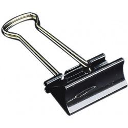 Klammer Foldback 41mm breit Klemmweite 19mm schwarz VE=12St.