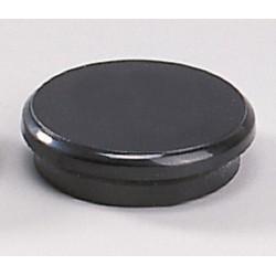 Magnete rund Ø 24mm Haftkraft 300g schwarz (10 Stück)