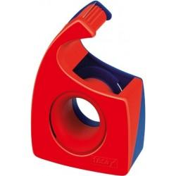 """Handabroller Tesa """"Easy Cut"""" für 10m x 19mm rot/blau (1St.)"""