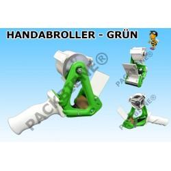 Top Handabroller für Klebeband Packband (1 Stück, Grün) SONDERANGEBOT