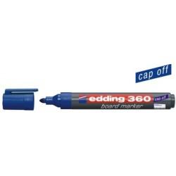 Boardmarker Edding 360 Glas Emaille Rsp. 1,5-3 mm blau