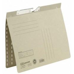 Pendelhefter Elba 90461 Karton 320g kfm. Heft. A4 grau 50 Stück