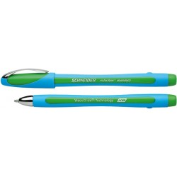 Kugelschreiber Schneider slider memo mit Kappe XB 1,4mm Schreibfarbe grün