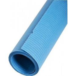 Packpapier Kraftpapier 70cm x 3m Blau (1Rolle)