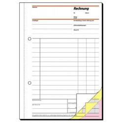 Rechnungsbuch Sigel A5 3x40 Blatt selbstdurchschreibend / 1 St.