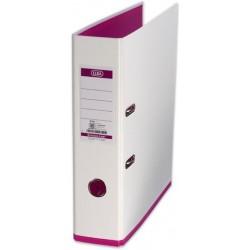 Ordner Elba 10489 myColour PP mit Griffloch A4 80mm weiß /pink