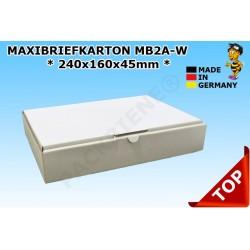 Maxibriefkartons Maxibrief 232x156x41 MB2A-W Farbe:WEISS (100 Stk.)