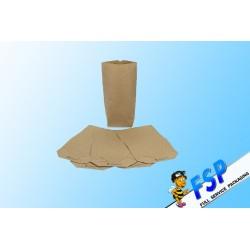Bodenbeutel braun für 1kg 16,5x26cm Natron 70g/m² 100 St.