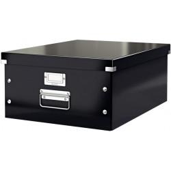 Archivbox A3 Click & Store Leitz mit Deckel 35x45x18,8cm Innenmaß schwarz