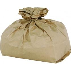 Mülltüten Papier für Biomüll 75g/m² 1lg. 24l 320x160x450mm braun 50er Pack
