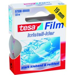 Klebeband TESA Tesafilm kristallklar sk 19mmx33m 1 Rolle
