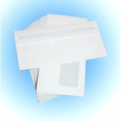 Briefumschläge DL weiß mit Fenster selbstklebend Karton á 1000 Stück SONDERANGEBOT