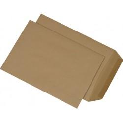 Versandtaschen Briefumschläge B5 gummiert BRAUN ohne Fenster (500 Stück)