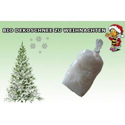 BIO Deko-Streuschnee kompostierbar weiß 1 Pckg. = ca. 35g