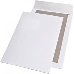 Papprückwand Versandtaschen C4 ohne Fenster Weiß Karton á 125 Stück SONDERANGEBOT