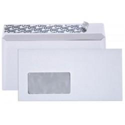 Briefumschlag DL DIN Lang HK mit Fenster weiss - 500 Briefumschläge