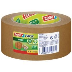 Papierklebeband TESA Eco 50mmx50m Braun (1 Rolle)