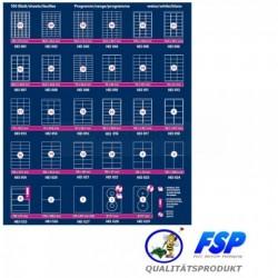 Selbstklebende Etiketten 48,5x25,4mm (4000 Stück auf 100 Blatt A4)