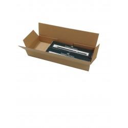 Kartons Postkarton K1 250x100x30mm braun einwellig (100 Stück)