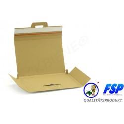 Großbriefkarton 305x215x14mm PACKBIENE®MAGIC A4 weiß (100 Stück)