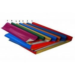 Geschenkpapier 70cmx2m 2-seitiger Druck Papier 65g Kleinrolle Grün - Rot