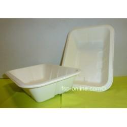 Biobiene® Pommesschale 173 x 122 x 40 mm Zuckkerrohrbagasse 1 Karton á 1000 Stück