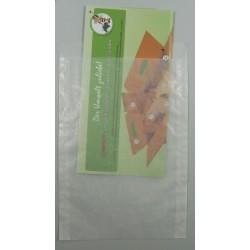 Papier-Flachbeutel transluzent 162x230+20mm 100 Stück
