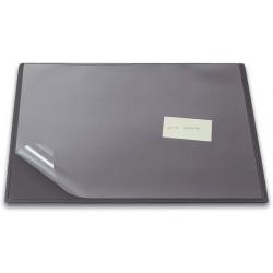 Schreibunterlage mit Vollsichtauflage 63 x 50 cm grau