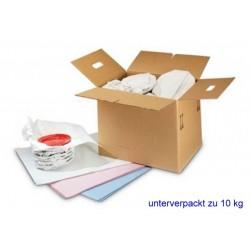 Seidenpapier Hellgrau-Seiden 25g/m² 1/4 Bogen 37,5 x 50cm 25kg