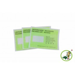 Papier Dokumententaschen Lieferscheintaschen DIN C5 Grün 250Stk.